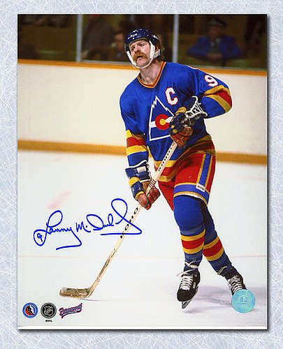 f855da6d5 Lanny Mcdonald Colorado Rockies Autographed 8X10 Photo - Signed Hockey  Pictures