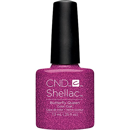 CND Shellac Nail Polish, Butterfly Queen, 0.11 (Queen Nail Lacquer)