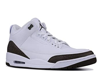 9411501ad23b53 Nike Men s Air Jordan 3 Retro Mocha White Dark Mocha-Chrome 136064-122