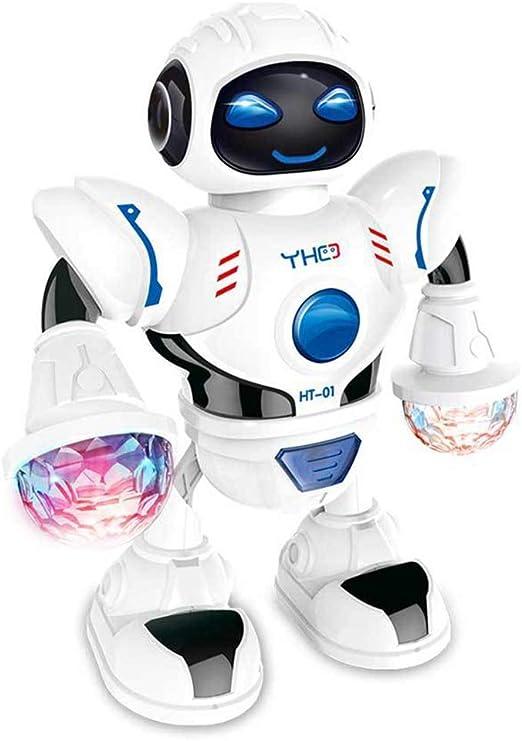 Dastrues Divertido Bailarín Robot Juguete Electrónico con Música ...