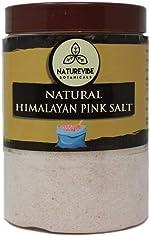 Naturevibe Botanicals 100% Natural Himalayan Pink Salt 2lb (Fine - Cooking