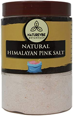 Naturevibe Botanicals 100% Natural Himalayan Pink Salt 2lb (Fine - Cooking Size) | Adds Taste