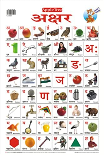 Buy educational charts hindi alphabet book online at low prices in