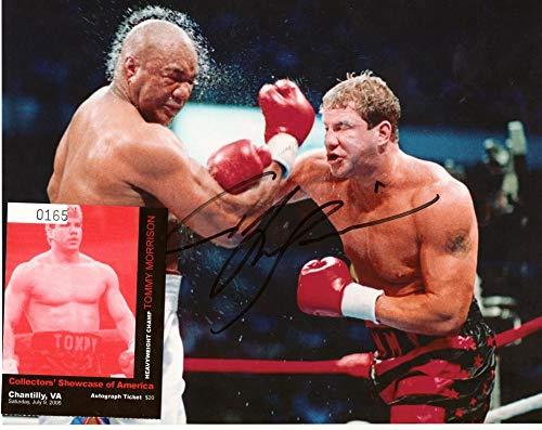 RAY MERCER Signed Autograph Auto 8x10 Boxing Champion Picture Photo w//COA