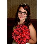 Red-Silk-Rose-Hand-Tie-36-Roses-Silk-Bridal-Wedding-Bouquet