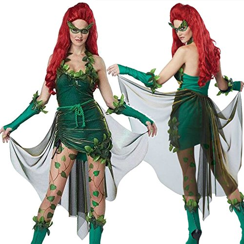 Dryad Halloween Costume (Women halloween evil demon dryad sith costume (free size))