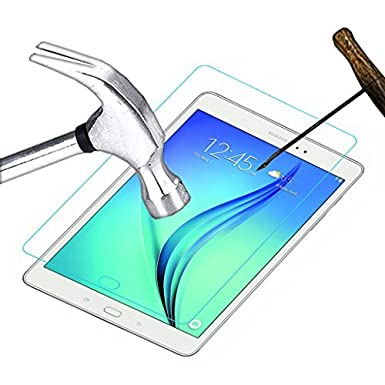 Acm Tempered Glass Screenguard For Samsung Galaxy Tab A T550 9.7 Tablet Screen Guard Scratch Protector Screen guards