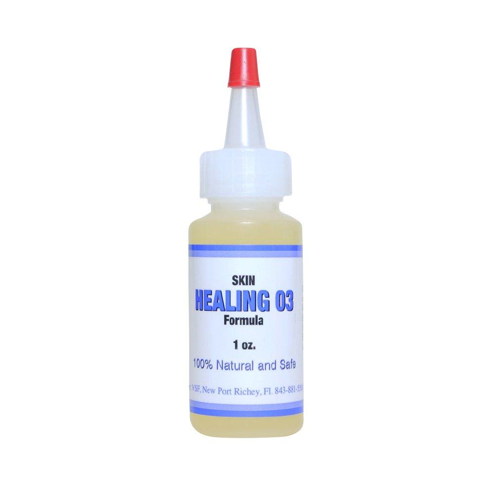 Allergic Pet Vet Select Skin-Eze All-Natural/Herbal Skin-eze O3 Oil - for Irritated Pet Skin - 1 oz by Allergic Pet