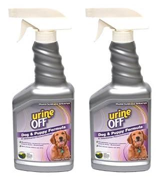 Orina Off olor y quitamanchas perro fórmula Rociador Superior 16.9oz (2-Pack 16.9oz Spray): Amazon.es: Productos para mascotas