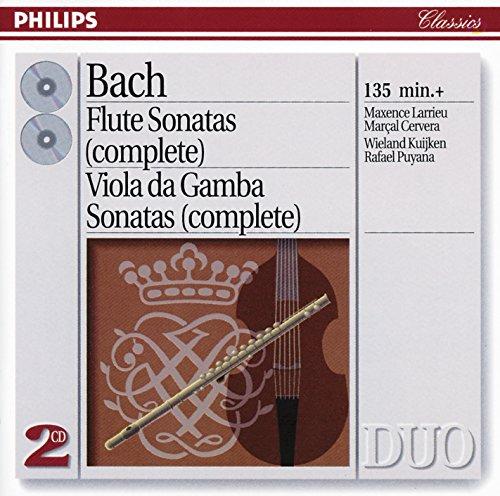 (Bach, J.S.: The Flute Sonatas/The Viola da Gamba Sonatas)