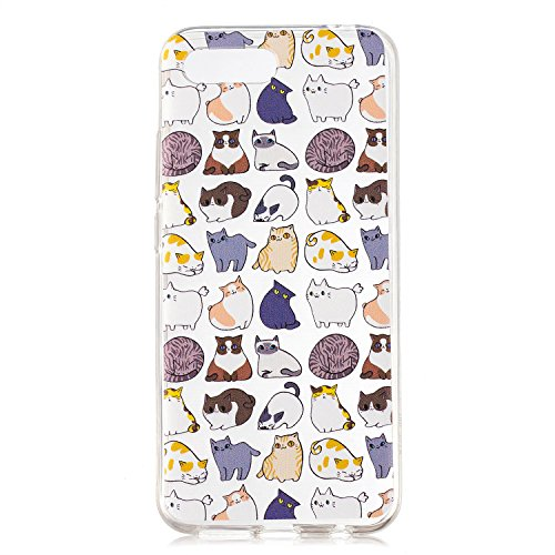 Luminous Housse Huawei scratch de Ultra Nuit Mince Bumper Souple Anti YOU TPU Anti Cover Protection Choc Coque Mini Coquille LOVE Glow BONROY 10 Honor Etui Transparente Silicone Case pour Luminous chat Series EH0Ywnqgv