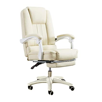 Enjoyable Amazon Com Office Swivel Chair With Footrest High Back Theyellowbook Wood Chair Design Ideas Theyellowbookinfo
