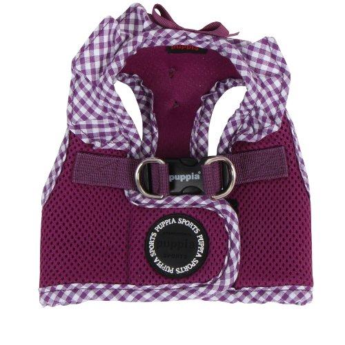 Picture of Puppia Authentic Vivien Vest Harness B, Large, Purple