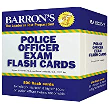 Barron's Police Officer Exam Flash Cards