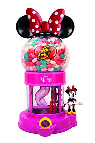Jelly Bean Machine - Disney Minnie Mouse Bean Machine w/ 1oz Jelly Belly JellyBeans