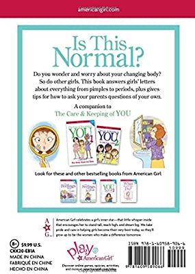 : MORE Girls Questions Is This Normal? Answered by the Editors of The Care /& Keeping of You Revised