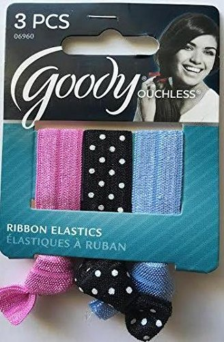 Amazon.com   Goody Ouchless Elastic Ribbons Hair Ties fc233fb6022