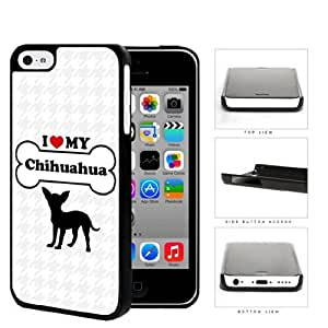 MMZ DIY PHONE CASEI Love My Dog Series Hard Plastic Snap On Cell Phone Case Cover Apple ipod touch 5 (Chihuahua)