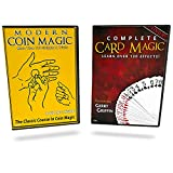 Magic Makers Complete Card Magic and Modern Coin Magic, Ultimate Combo Set, Over 300 Tricks
