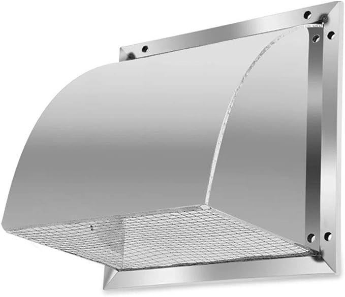 LXLTL Rejilla de Ventilación de Acero Inoxidable para Todos Los Sistemas de Ventilación de Ventilación de Pared,12inches: Amazon.es: Hogar