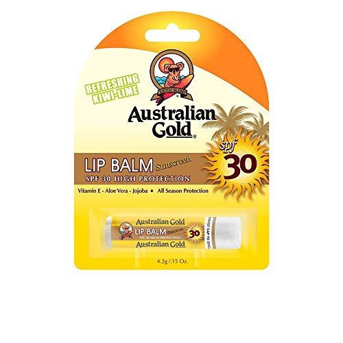 Australian Gold Sunscreen Lip Balm Kiwi-Lime 4.2g SPF30