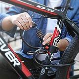 TACKLIFE Bike Lock, HCL1C 4-Feet Resettable