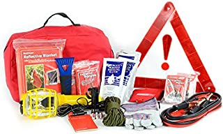 product image for Deluxe Auto Safety Kit - Car Emergency Supplies - Vehicle First Aid & Prepper Gear