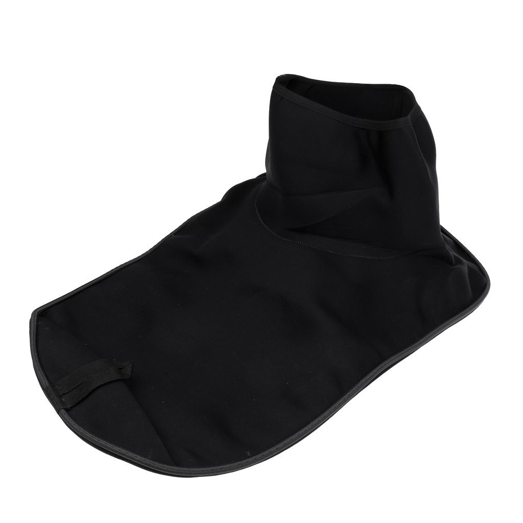 MonkeyJack Universal Waterproof Kayak Marine Boat Spray Deck Skirt Cover Sprayskirt - Black