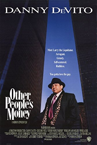 Other People's Money 1991 D/S Rolled Movie Poster 27x40