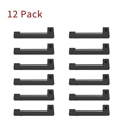 Bigger - Pack de 12 cartuchos de cinta de repuesto para impresora ...