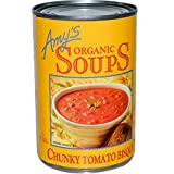 Amy's, Organic Soups, Chunky Tomato Bisque, 14.5 oz (411 g)(Pack of 4)