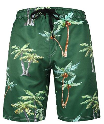- HONG DI HAO Mens Swim Trunks Quick Dry Swim Trucks for Men Big and Tall  Men's Swim Trunks  Army Green30