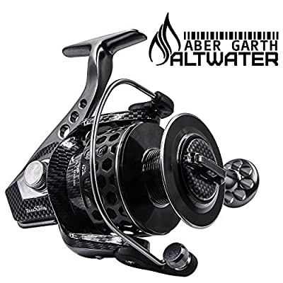 Corrosion Resistant Spinning Reel for Saltwater and Freshwater Fishing