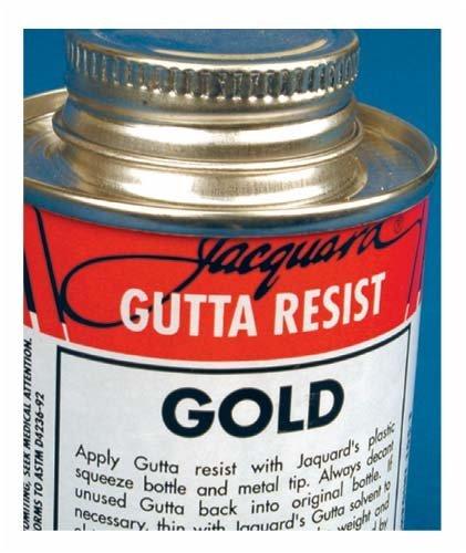 JACQUARD/R G S JAC2782 GUTTA RESIST GOLD 8OZ from JACQUARD/R G S