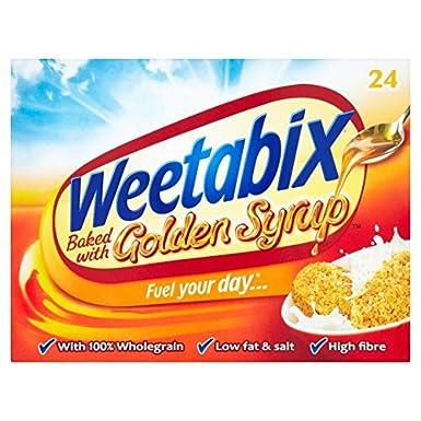 Weetabix 522 g 24 Jarabe de oro Galletas: Amazon.es: Alimentación y bebidas
