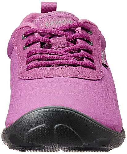 Duet Viola Top Busy Crocs Graphite Women's Day up Low Lace Trainers 6zBxqdwT