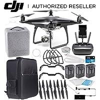 DJI Phantom 4 PRO Obsidian Edition Drone Quadcopter (Black) Ultimate Backpacker Bundle