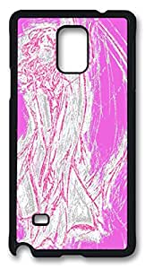 Angel Pink Masterpiece Limited Custom PC Black Case for Samsung Galaxy Note 4 by Cases & Mousepads