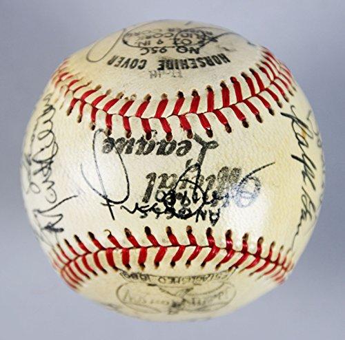 California Angels 1980 (1980 California Angels Team-Signed Baseball - 16 Sigs. - COA)