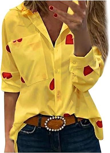 VEMOW Camisetas Mujer Sudadera Moda Delgado Manga Larga ...