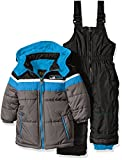 iXtreme Baby Boys' Colorblock Snowsuit, Charcoal, 12 Months