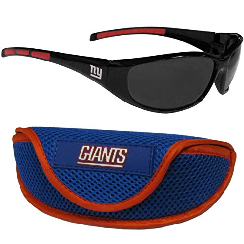 NFL New York Giants Wrap Sunglasses & Sport Case, - Sunglass Ny