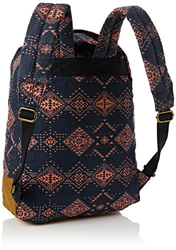 Animal Ladies Burst 20 Litre Print Patterned Casual Backpack Grey Marino Eclipse total