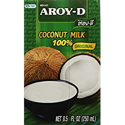 100% Coconut Milk - 8.5 Oz (6-pack) by Aroy-D