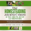 Our Homesteading Journey from 0 to 100 in Just 12 Months: How We Became Self Sufficient in Homesteading as a Family Audiobook by Todd Bradshaw Narrated by Randal Schaffer