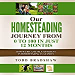 Our Homesteading Journey from 0 to 100 in Just 12 Months: How We Became Self Sufficient in Homesteading as a Family | Todd Bradshaw