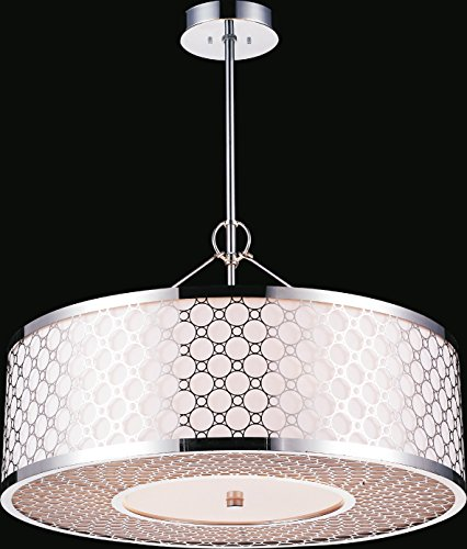 Theodore Stainless Steel Chandelier