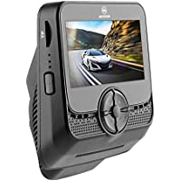 Muson MB2 Car Dash Cam 2.4 LCD FHD Car Dashboard Camera DVR Recorder With 170° Wide Angle View Lens, WDR, Built-in WiFi, Loop Recording, G-sensor, Night Vision - Black