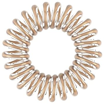 INVISIBOBBLE HAIR TIE 3 HAIR TIES - TIME TO SHINE EDITION - BRONZE ME  PRETTY  Amazon.co.uk  Beauty 451a8578ef9