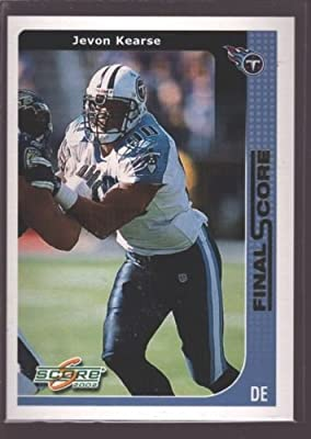 Jevon Kearse 2002 Score Final Score Gold Mint Sp Florida Gators Titans /100 $12